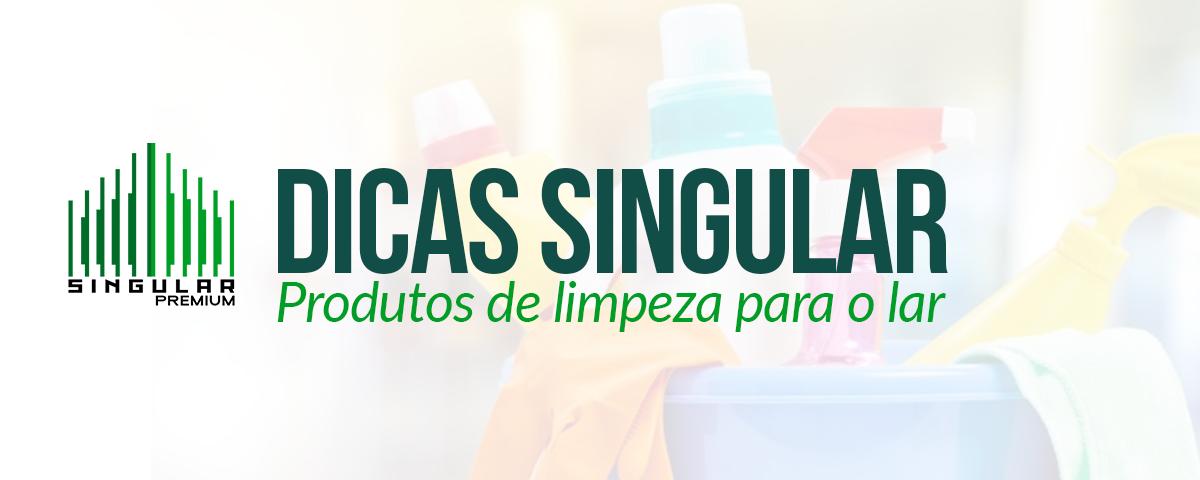 dicas singular produtos de limpeza para o lar